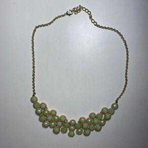 Francesca's Mint Statement Necklace